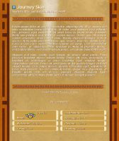 Journey Journal Skin by EcstaticDismay