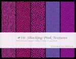 Shocking Pink Textures by BirdseyeStock