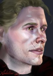 Doodle: Cullen Stanton Rutherford by AmbellinaLeander
