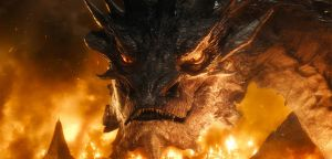 Smaug the Tremendous by DayDreamPrincess