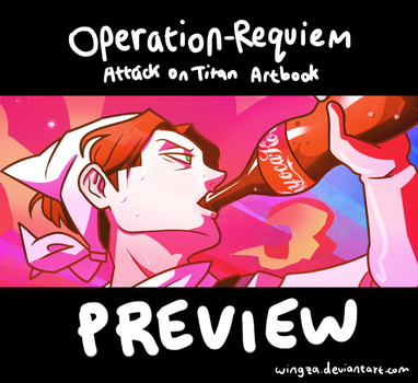 SnK Charity Artbook: Operation-Requiem (preview) by Wingza