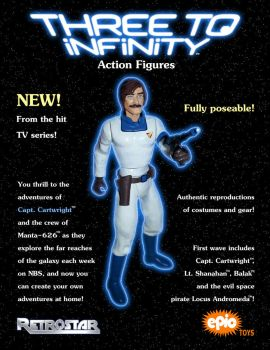Three to Infinity - Cartwright Action Figure Ad by BrentJS
