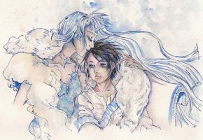 Snow's Cold Kiss by Silence-in-November