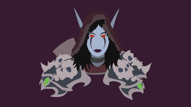 Sylvanas Windrunner Vector Art by WalidSodki