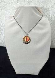 SOLD - The Great Eye - necklace by 2ndWindAccessories