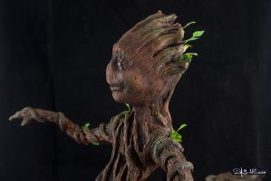 [Garage kit painting #14] Baby Groot statue - 014 by DasArt
