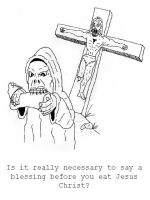 Zombies and Jesus by jamsketchbook