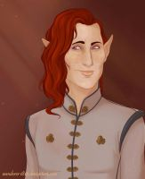 Inquisitor Lavellan by wanderer1812
