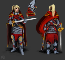 Lucetta - Judgment Armor by PeterPrime
