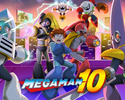Mega Man 10 - Legacy Collection 2 by theCHAMBA