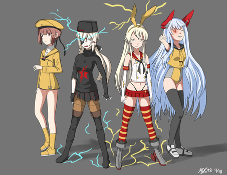 KanColle Meets The Flash by RedSky98