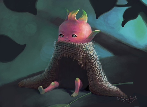 Dragon-fruit Boy by rainytown