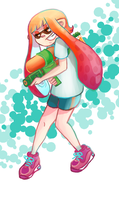Splatoon Inkling by ToxicBiscuits