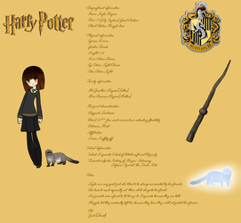 Layla Rogers || Harry Potter Oc by AngelAdopts