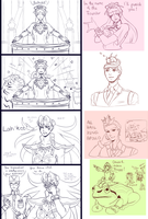 Phoenix Wright: SoJ (Sketchdump No. 2) by Caithlyn