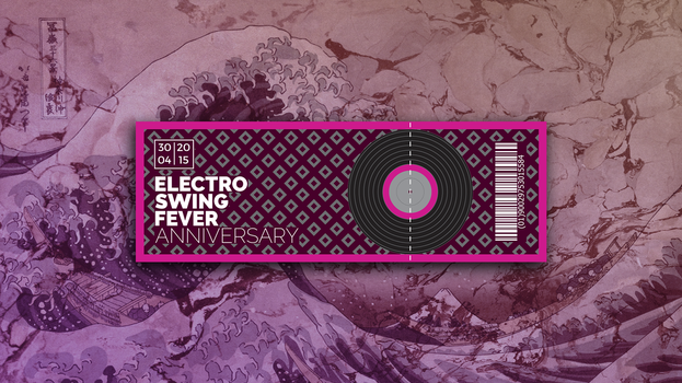 ELECTRO SWING FEVER - Ticket by KevinWScherrer
