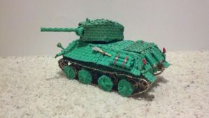 T-34 style tank view 1 by Panzer-13