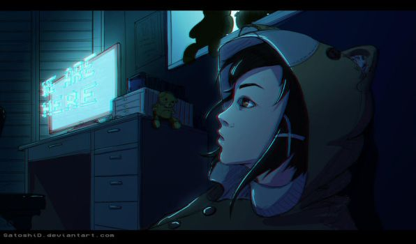 Serial Experiments Lain by SatoshiD