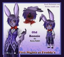 Old Bonnie the rabbit by Enock