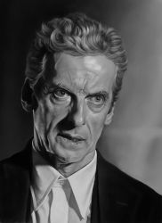 Peter Capaldi by CraigPaton