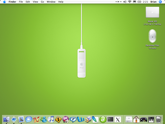 iPod Shuffle + iBook by bloodmyst