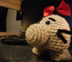 Boing, Zoom - Mr. Saturn Doll by KCCrochet