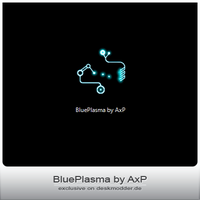 BluePlasma by AxP by deskmodder