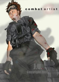 The Soldier by combat-artist