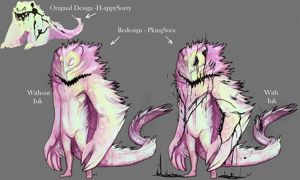 REDESIGN: Galaxy Ink Taum by PkingSora
