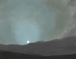 Quick Sketch - Mars Sunset by glomska