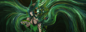 green smudge by Wishlah