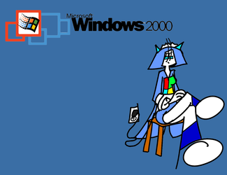 Windows 2000 tan by TFSyndicate