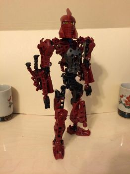 MOC: Toa of Fire by BionicGirl103