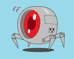 Sketch Time - Robot Thingy by BobBlaster