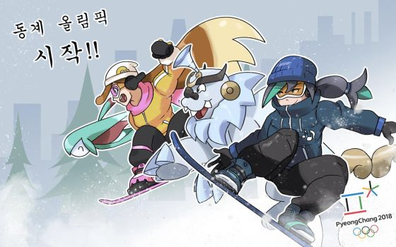 Pyeongchang 2018!! by locomotive111