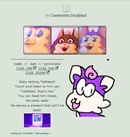 give me a treat - f2u no core tattletail code by sellbot