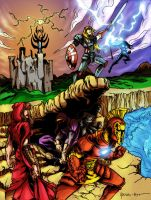 The Medieval Avengers by ParisAlleyne