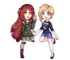 Pixelart Commission for Leafii-0n by AruOwlsArts