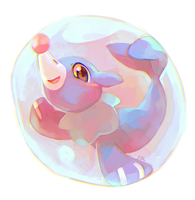 Popplio in da bubble
