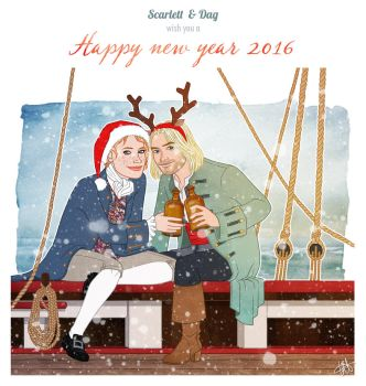 Happy New Year 2016! by lilis-gallery