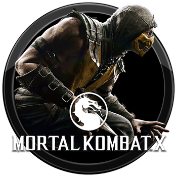 Mortal Kombat X Icon v2 by andonovmarko