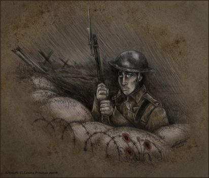 Tommy in the Trenches by Leopreston