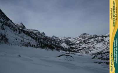 Lake Sabrina winter 5 by RoonToo