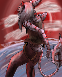 Red Bad Day by NicOlaWolf791