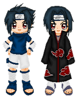 Sasuke and Itachi by Ashuri