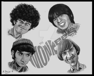 The Monkees by adavis57