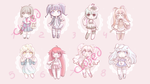 [OPEN] Sweet Adopts #4 Auction | 3$ SB! ((CHEAP)) by FractalMoon