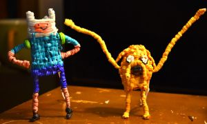 Twist Tie Jake and Finn by justjake54
