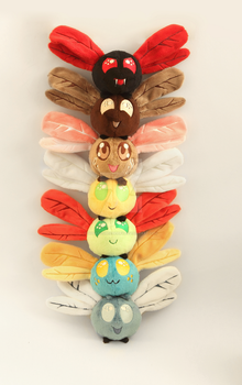 Parasprite totem pole by SugarcubeCherry