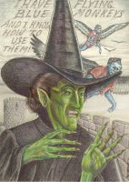 Wicked Witch of the West by SaintAlbans